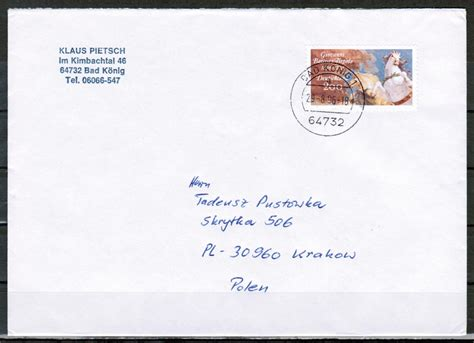 Brief Nach briefe philatelie bund berlin ddr