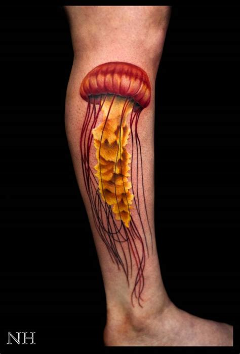 black and grey jellyfish tattoo 40 magnificent jellyfish tattoos tattooblend