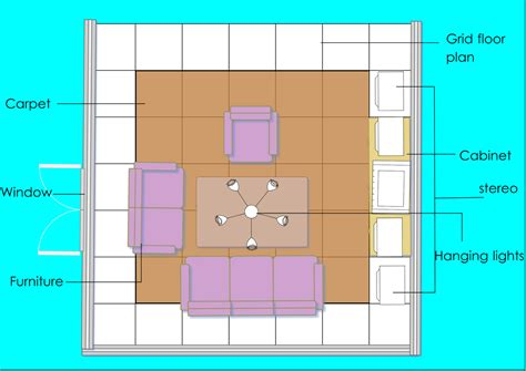 room layout grid the 3d