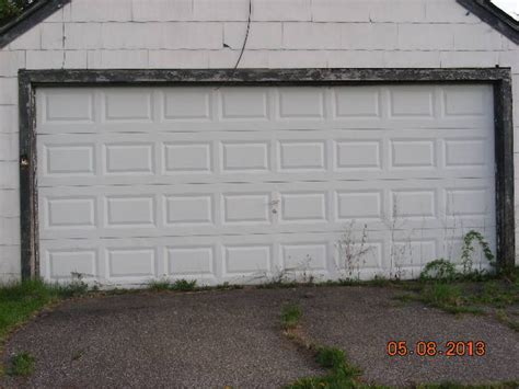 Garage Door 10 X 8 16 X 8 Raised Panel Steel Garage Door Michigan