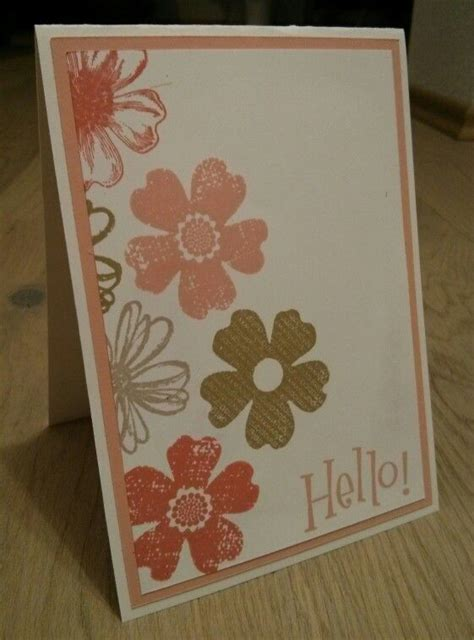 flower card ideas stin up flower shop card stin up ideas