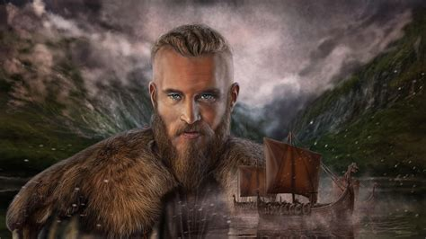 the gallery for gt ragnar lodbrok skyrim vikings backgrounds 4k download