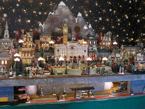 layout for christmas village 1000 images about snow village layout ideas on pinterest