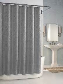 Modern Shower Curtains Versaille Dove Grey Shower Curtain Contemporary Shower Curtains By Overstock