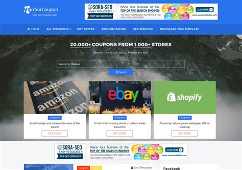 blogger templates for coupons your coupon blogger template blogspot templates 2018