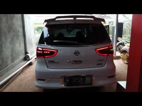 Lu Led Grand Livina modifikasi lu stopl led bar new livina sein flowing