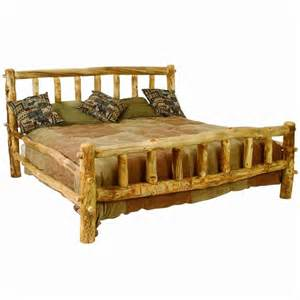 Rustic Log Bed Frame Furniture Gt Bedroom Furniture Gt Bed Frame Gt Log Beds Frame