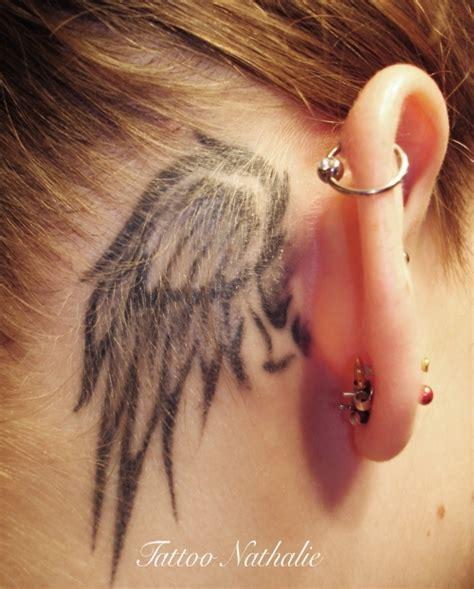 Angel Ear Tattoo   25 great angel wing tattoos creativefan