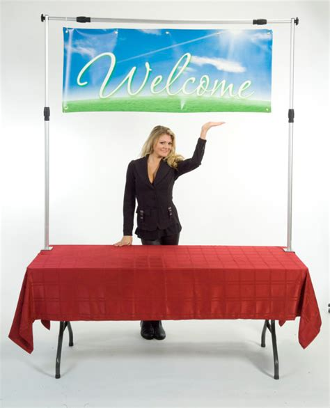 how to hang a picture how to hang a banner over a table