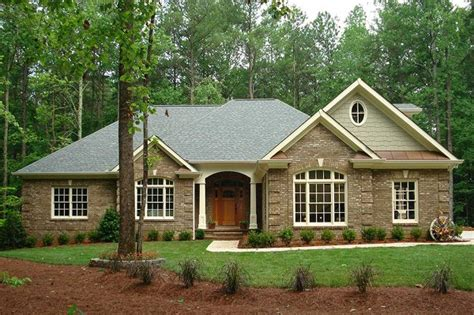 home plans small houses classic brick ranch home plan 2067ga architectural