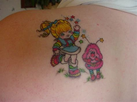 rainbow brite tattoo rainbow brite 80 s tattoos