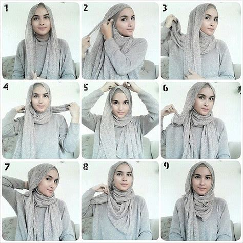tutorial hijab pashmina estrella style best 25 hijab tutorial ideas on pinterest