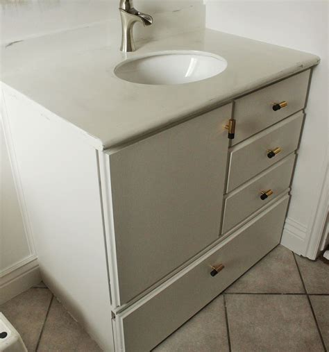 building bathroom vanity how to turn a builder grade vanity into a custom and chic