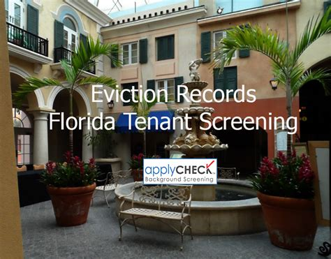 Eviction Records Florida Tenant Screening And Eviction Records Applycheck