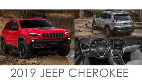 2019 Jeep Cherokee facelift revealed [price, release