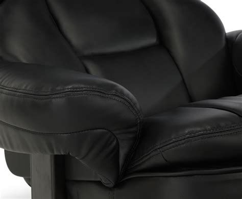 bonded leather recliner chair finley black bonded leather recliner chair just armchairs