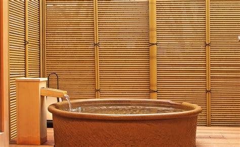hinoki bathtub traditional hinoki bathroom wasou