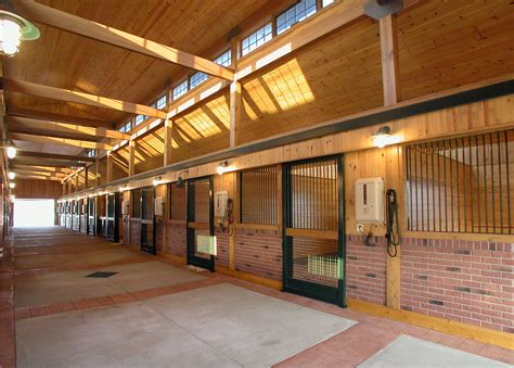 301 best images about horse barn on pinterest saddle aisle view in a horse barn designed by gh2 gralla equine