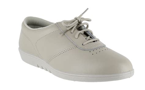 comfort sole shoes uk womens comfort treble leather lace up washable flat sole