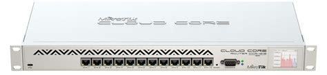 Mikrotik Ccr1016 12s 1s 2gb Ram 12 Port Gigabit Sfp Murah routerboard ccr1016 12g