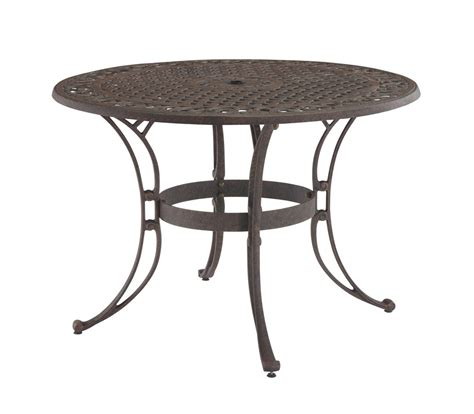 42 Patio Table Home Styles Rust Brown 42 Inch Outdoor Dining Table 88 5555 30 Homelement