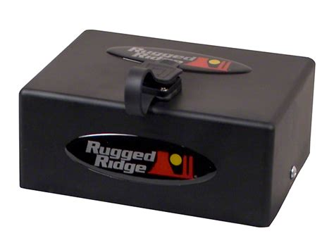 rugged ridge 8500 rugged ridge f 150 8 500 lb or 10 500 lb winch replacement solenoid box assembly 15103 11 97
