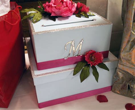 how to make a wedding card box with fabric diy wedding card box project