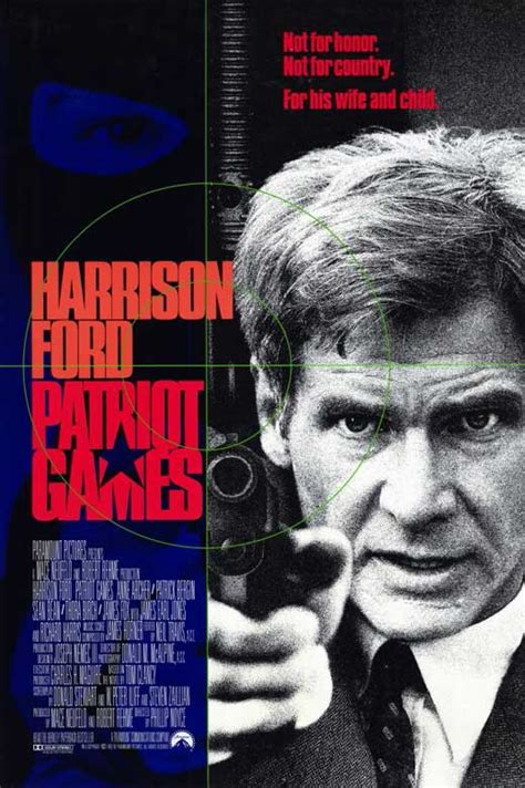 Patriot Games 1992 Full Movie Patriot Games Movie Posters From Movie Poster Shop