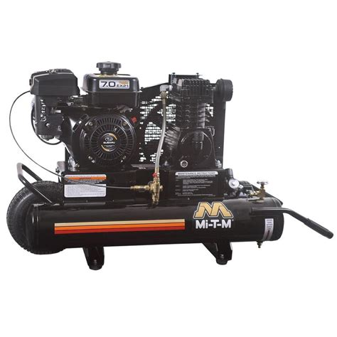 Campbell Hausfeld 8 Gal. Oil Lubed Compressor HL540100AV   The Home Depot