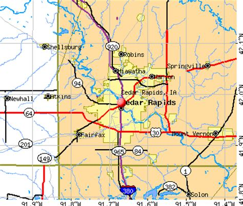 map of cedar rapids iowa cedar rapids iowa ia profile population maps real