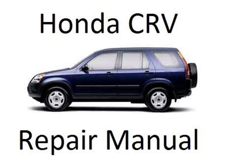 honda crv 2001 2006 workshop service repair manual on cd the best ebay service manual 2000 honda cr v service manual on a relays 1998 1999 2000 2001 2002 honda