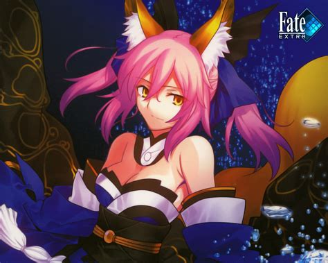 psp fate extra tamamo no mae servant caster psp anime and 画像 fate extra 壁紙から画像までまとめ ccc naver まとめ
