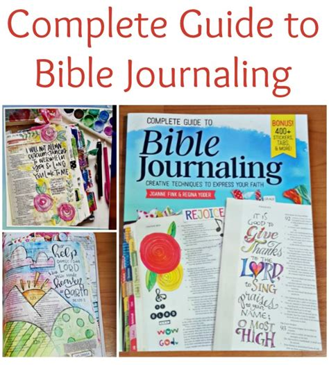 complete guide to bible bible journaling guide simply sherryl
