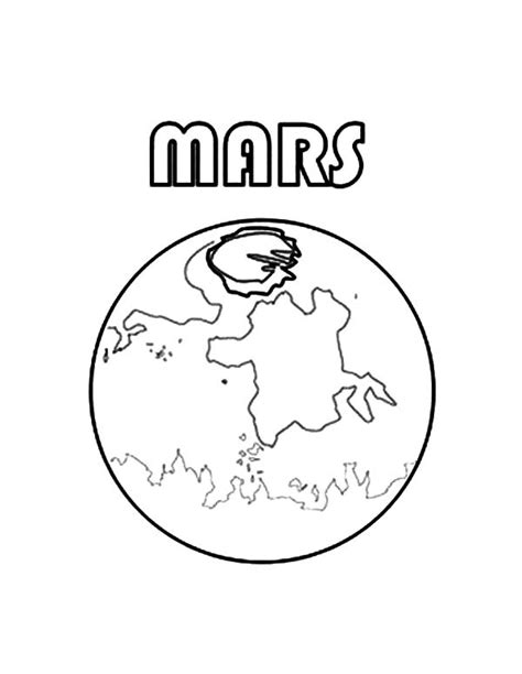 mars coloring www pixshark com images galleries with a