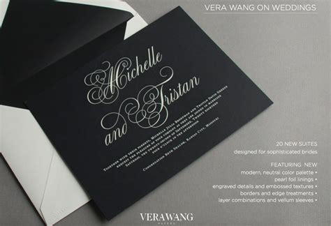 vera wang wedding invitation vera wang wedding invitations sweet paper