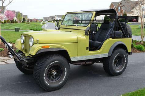 jeep cj 1981 jeep cj cj5 custom fiberglass