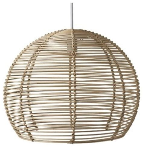 rattan lights rattan pendant 50cm freedom furniture and homewares