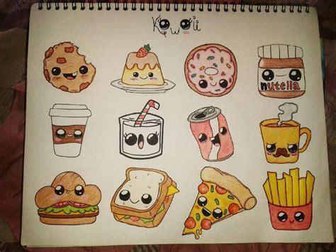 imagenes de rosquillas kawaii cristal gonz 224 lez comida kawaii 3 art dibujos