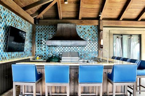 Blue Kitchen Ideas by Cuisine D 233 T 233 28 Concepts D Am 233 Nagement Pour Profiter
