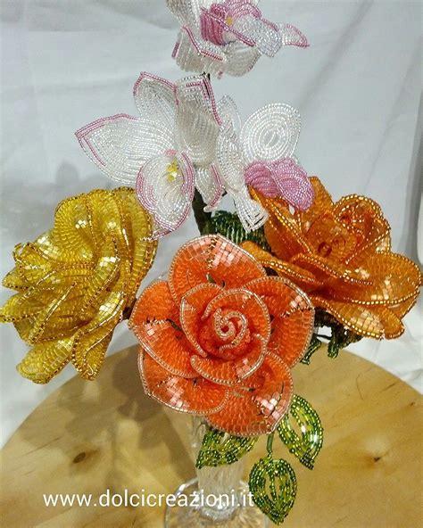 fiori perline bomboniere segnaposto