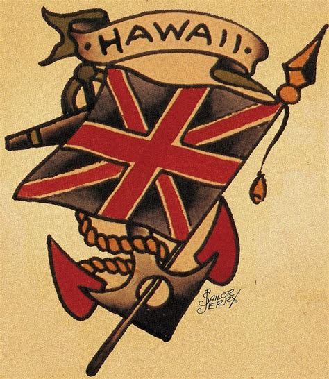 sailor jerry anchor tattoo designs sailor jerry hawaii sailor jerry vintage