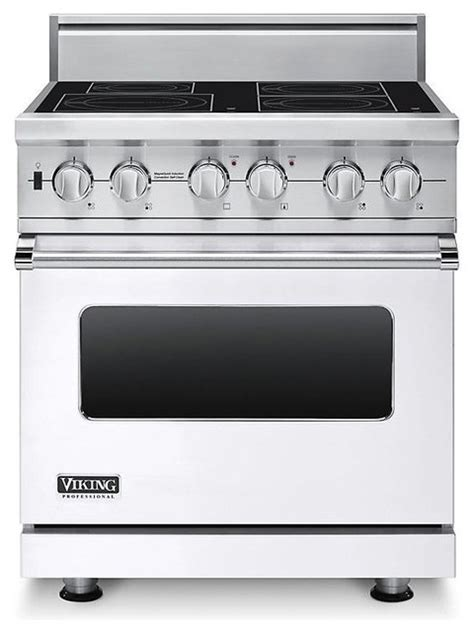 induction used cooktops electric ranges viking 30 quot pro style induction range white visc5304bwh gas ranges and electric ranges los