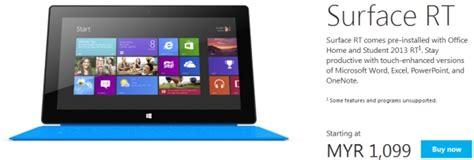 Microsoft Surface Rt Malaysia microsoft surface rt malaysia price technave