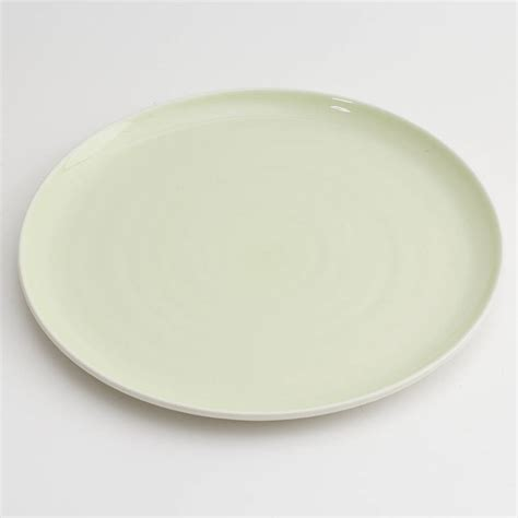 Porcelain Plate tactile coloured porcelain plate by bloomfield