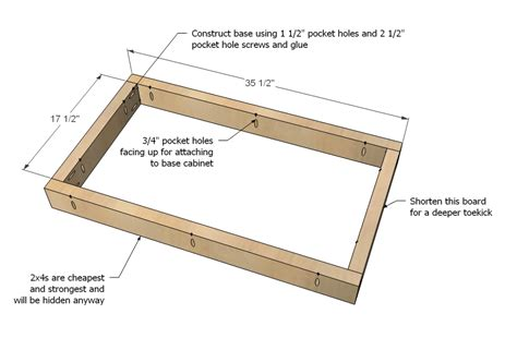 plans woodworking plans base cabinet
