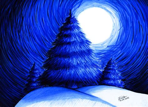 Monochromatic Color monochromatic evergreen trees by kitsunekage13 on deviantart