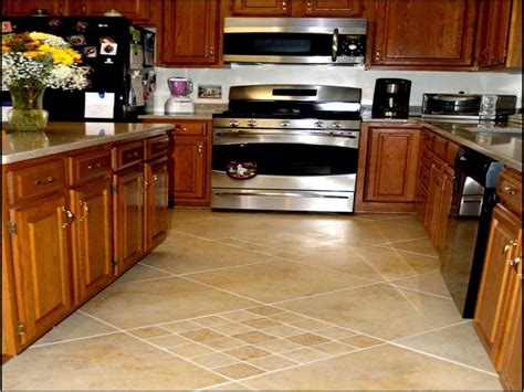 Kitchen Tile Designs Floor Unique Hardscape Design Kitchen Tile Floor Design Ideas