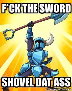 Shovel Meme - an alchemist duet shovel knight plague of shadows