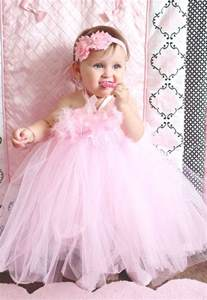 baby birthday dresses gorgeous light pink feather tutu dress for baby 6 18