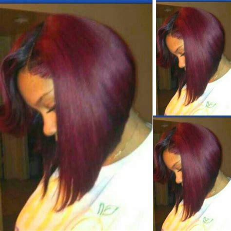 burgundy short messy bob plum bob by ms willa i want this color cut